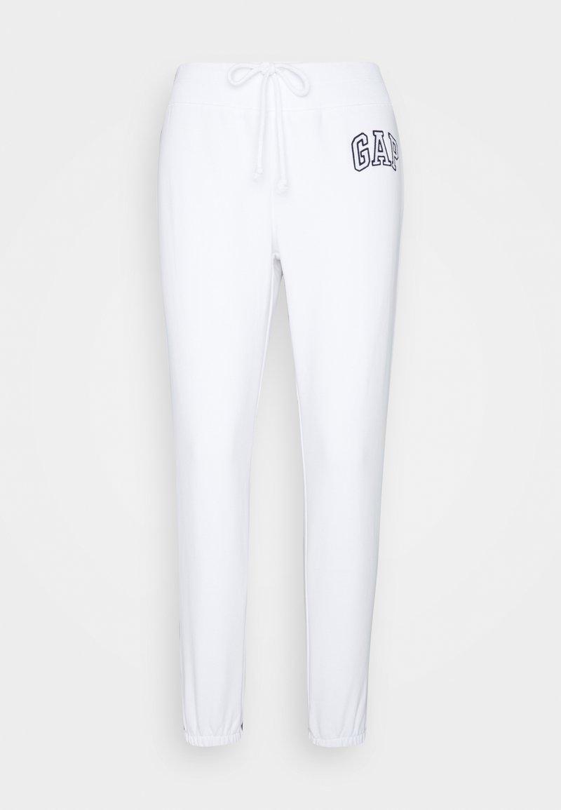 GAP - Tracksuit bottoms - optic white