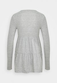 Forever New - PIPER TIERED SMOCK JUMPER - Long sleeved top - grey - 1