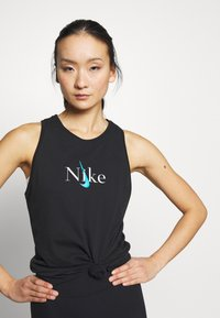 Nike Performance - DRY TANK YOGA - Sportshirt - black - 2