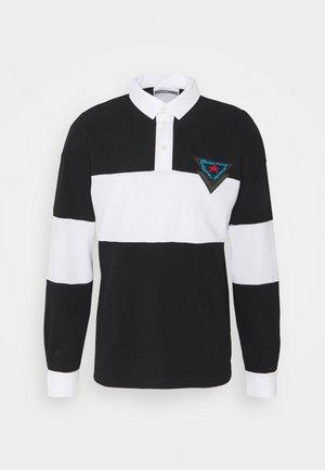 Poloshirt - fantasy print black