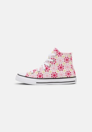 CHUCK TAYLOR ALL STAR  - Korkeavartiset tennarit - white/pink/black