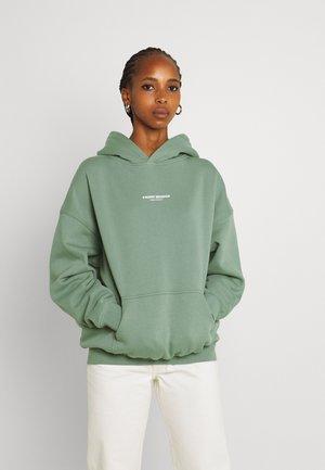 STUDIO HOODIE WASHED - Hoodie - soft green