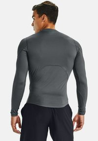 Under Armour - Long sleeved top - pitch gray - 1