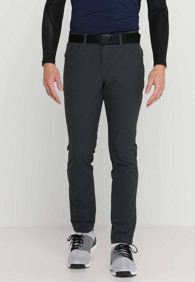 BEYOND FIVE POCKET PANTS - Pantaloni - carbon
