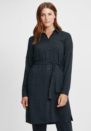 Košilové šaty - marine gestreift