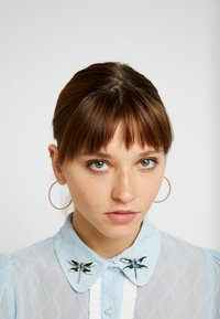 Sister Jane - WANDERING WINGS EMBELLISHED BLOUSE - Button-down blouse - light blue - 3
