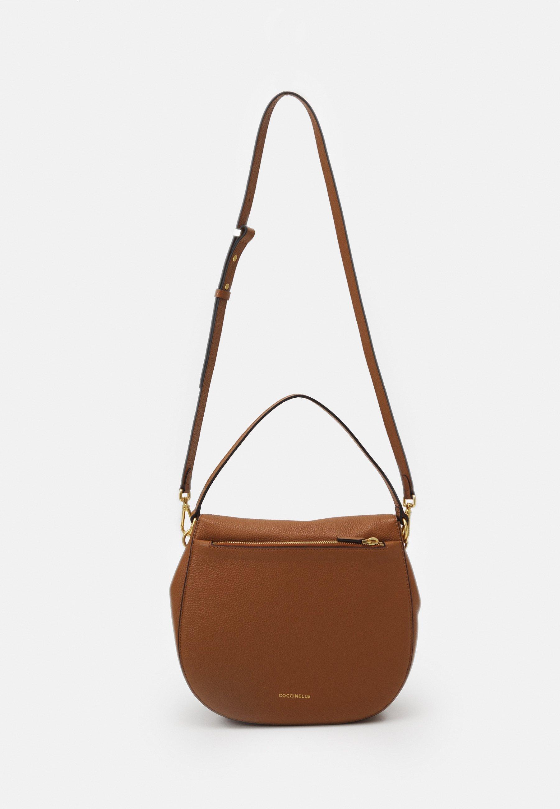 Coccinelle Zaniah Flapover Shoulder - Handtasche Caramel/tan