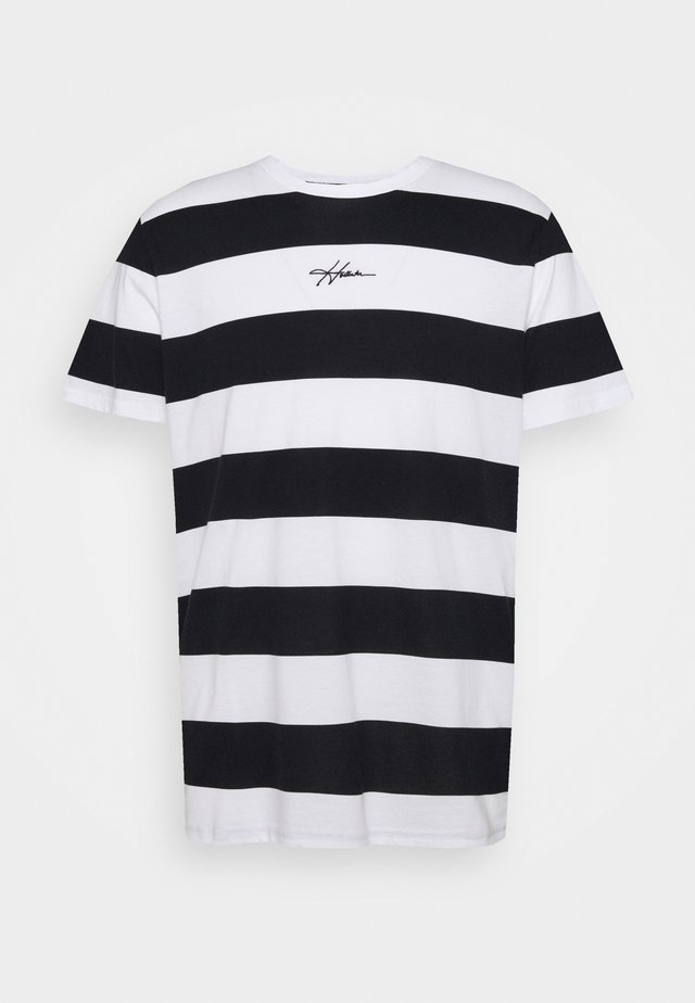 CREW RUGBY - T-shirt imprimé - black