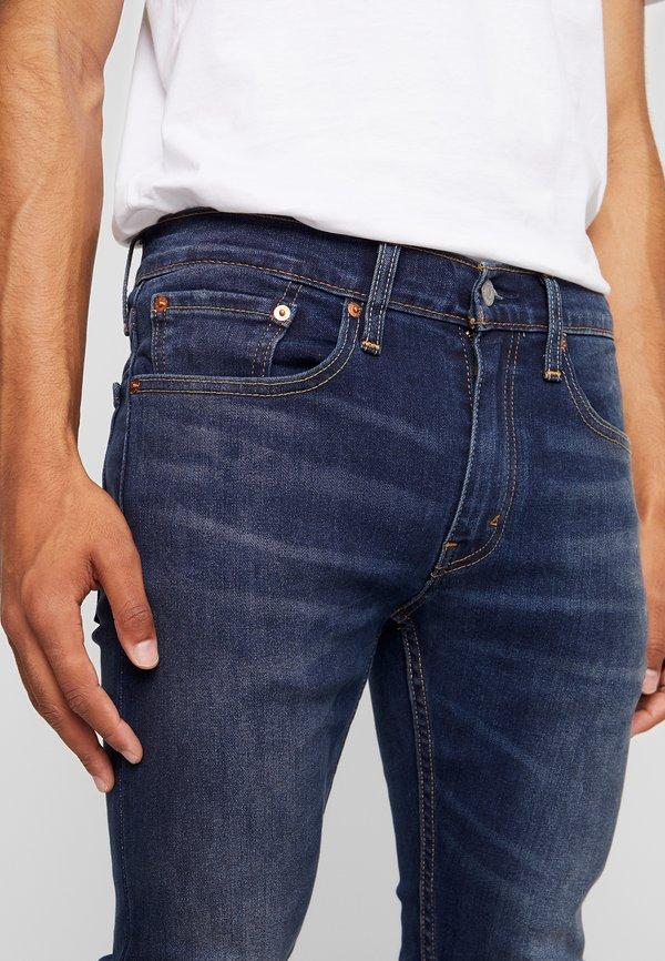 Levi's® 519™ SKINNY BALL - Jeansy Skinny Fit - can can/ciemnoniebieski Odzież Męska MJPN