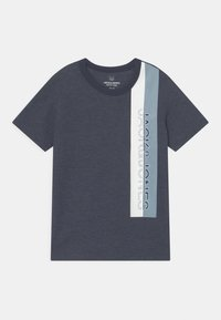Jack & Jones Junior - JCOOYESTER CREW NECK - T-shirt con stampa - navy blazer - 0