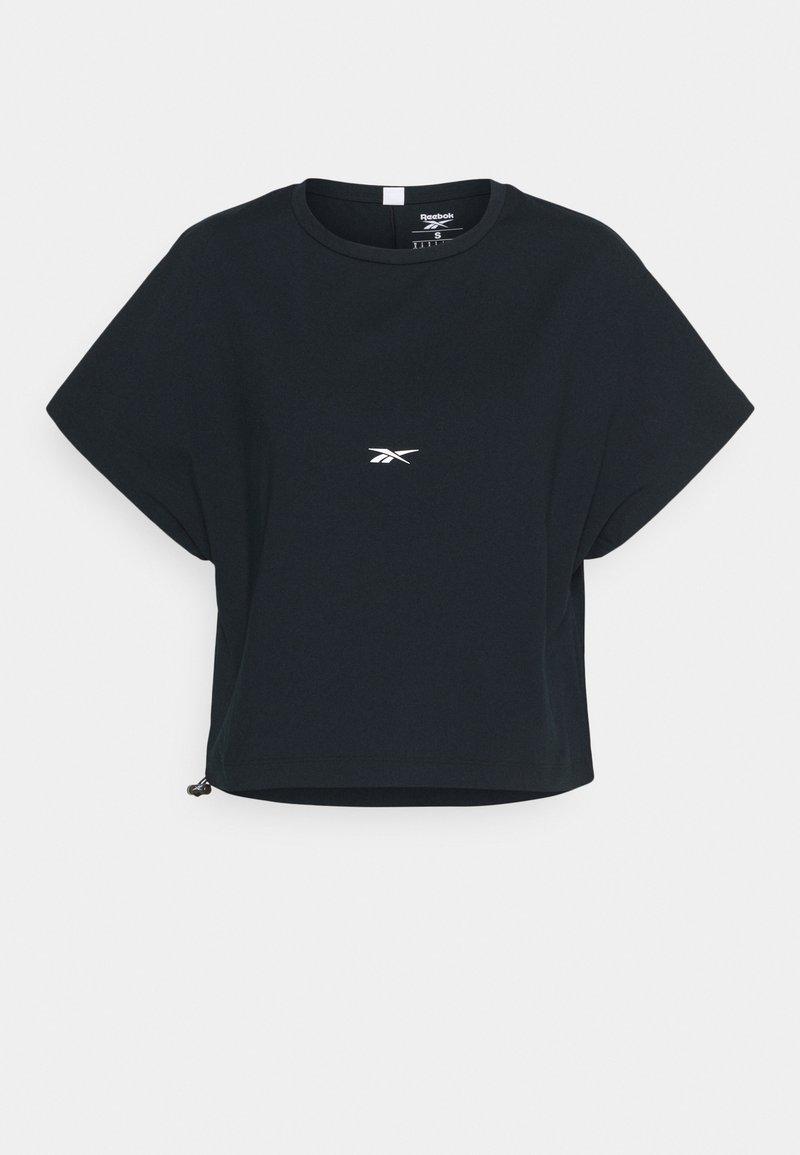 Reebok - VECTOR - T-shirt basic - black