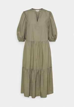 Maxi dress - summer khaki