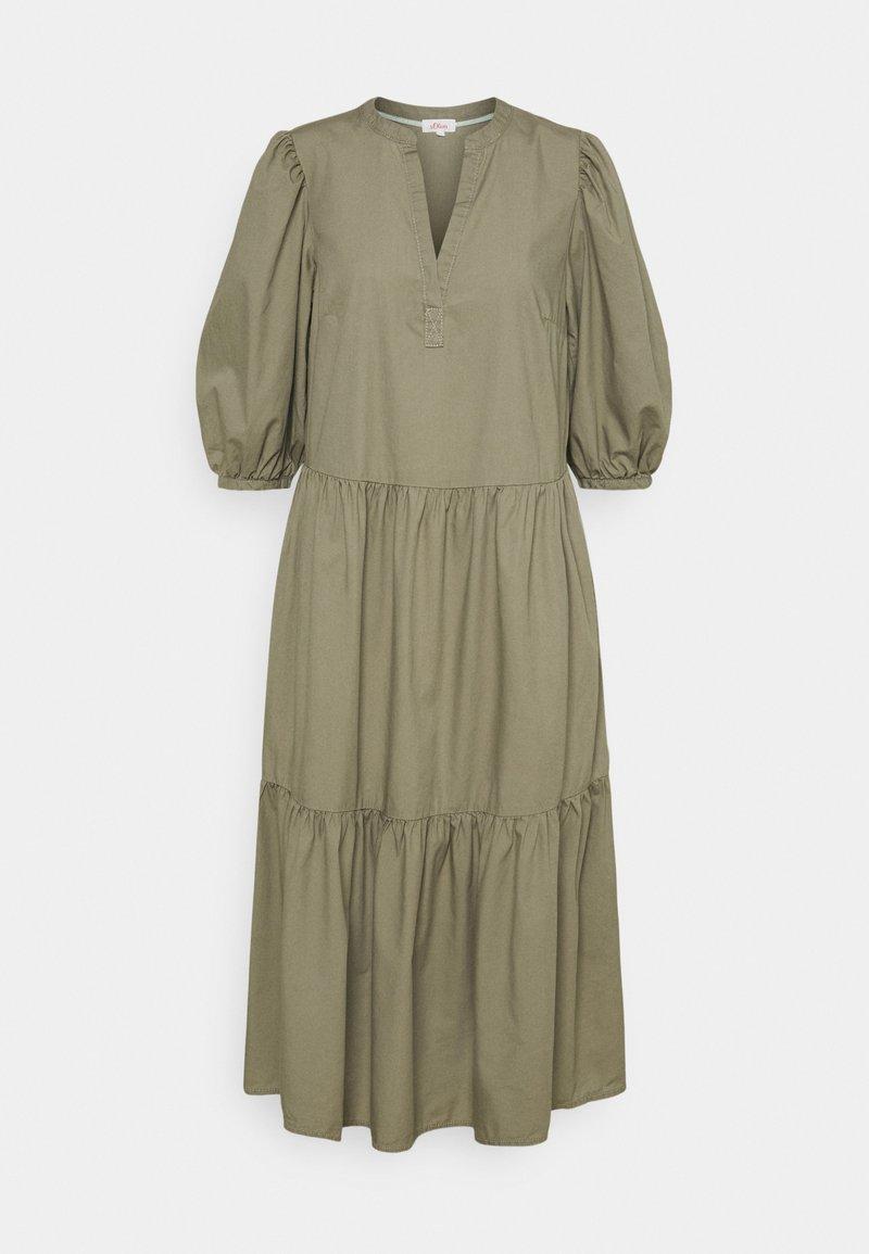 s.Oliver - Maxi dress - summer khaki
