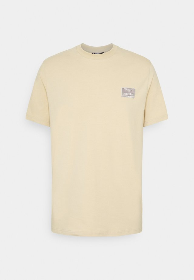 FERIE UNISEX - T-shirt med print - pale khaki