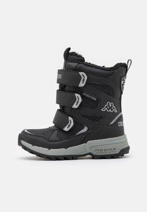 VIPOS TEX UNISEX - Stivali da neve  - black/silver