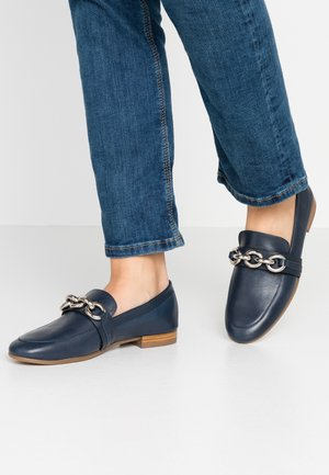 Loafers - nature navy