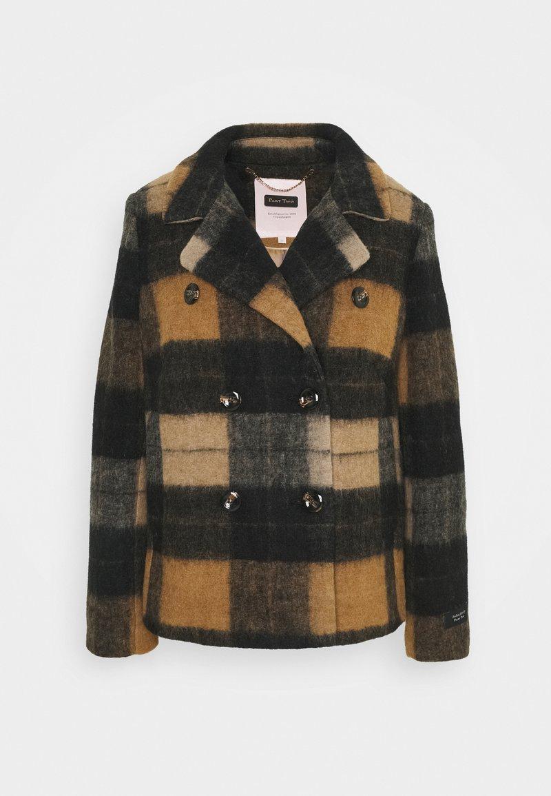 Part Two - MANDALAPW - Summer jacket - big brown