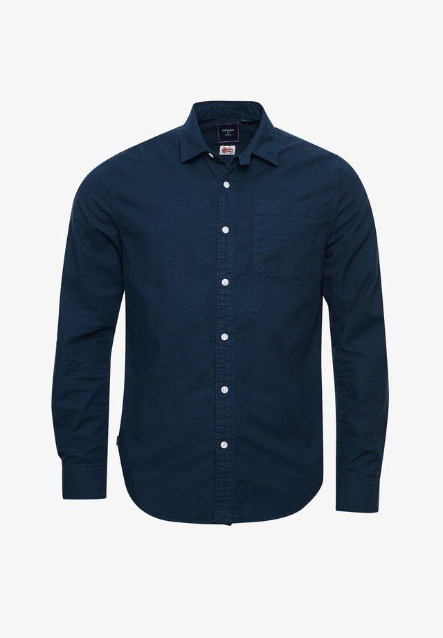 LINE DRIED OXFORD - Shirt - indigo