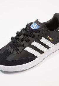 adidas Originals - SAMBA - Baskets basses - core black/footwear white - 2