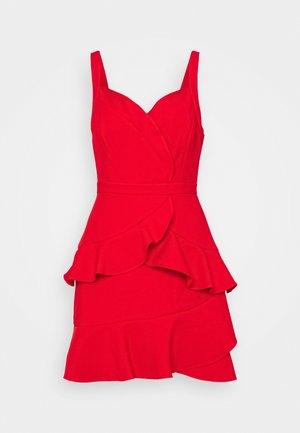 STRAPPY DRESS - Cocktail dress / Party dress - rosso