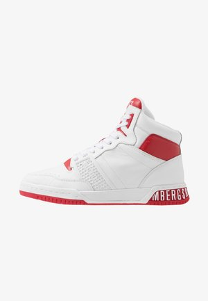 SIGGER - Sneakers hoog - white/red