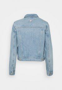 Guess - ADELYA JACKET - Denim jacket - light-blue denim - 1