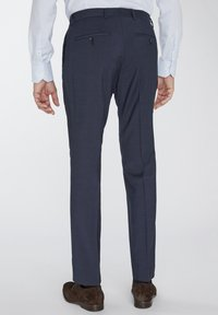 Van Gils - SPLIT BUCK NOOS - Suit trousers - blue - 2