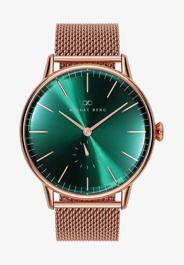 UHR SERENITY GREENHILL MESH 40MM - Horloge - sunray green