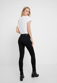 G-Star - LYNN MID SUPER SKINNY  - Jeans Skinny Fit - pitch black - 2