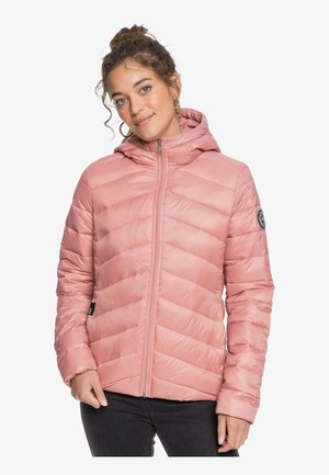 COAST ROAD HOODED - Chaqueta de entretiempo - ash rose