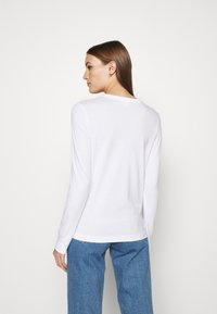 ARKET - LONGSLEEVE - Long sleeved top - white - 2
