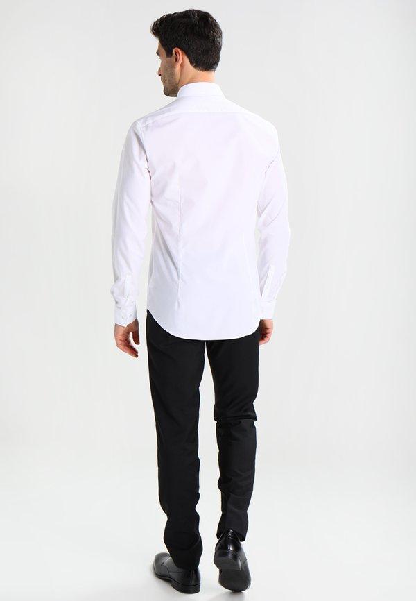 Calvin Klein Tailored BARI SLIM FIT - Koszula biznesowa - white/biały Odzież Męska UPYP