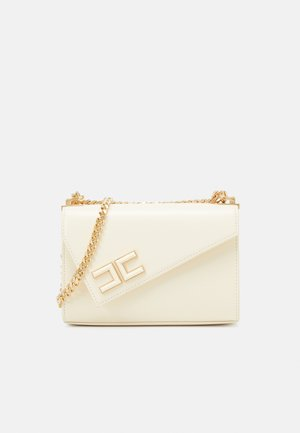 ASYMMETRIC SMALL SHOULDER BAG - Across body bag - burro