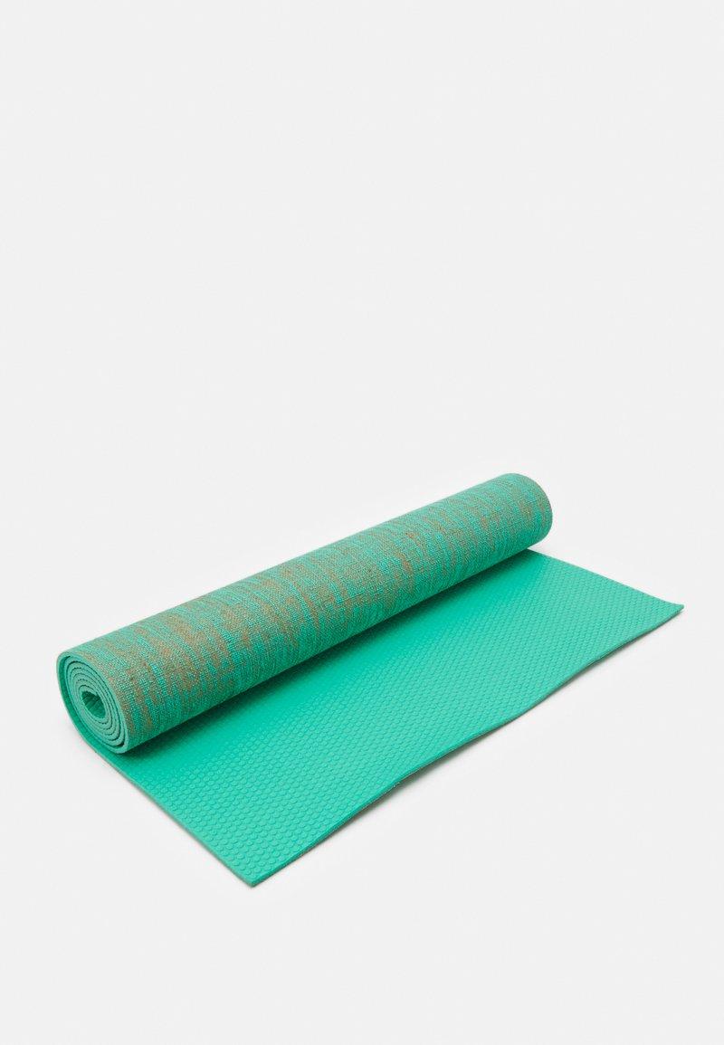 HIIT - FLAX YOGA MAT - Fitness/yoga - green