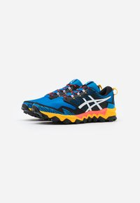ASICS - GEL FUJITRABUCO 8 - Trail running shoes - directoire blue/white - 1