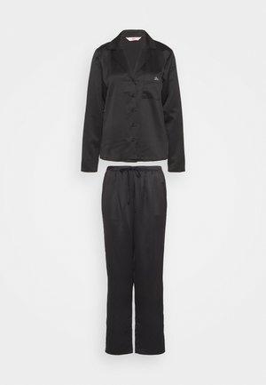 ABELLA SPOT REVERE PANT SET - Pyjamas - black