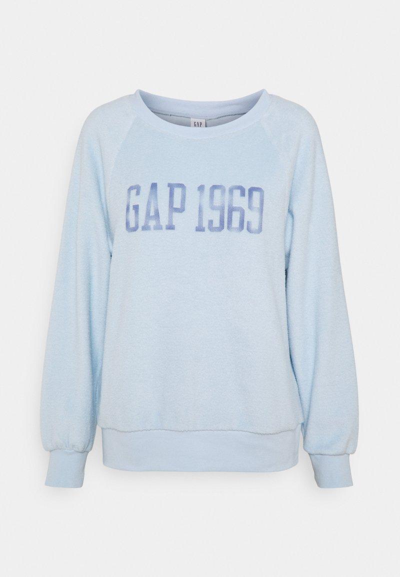 GAP - RAGLAN - Felpa - light blue shadow
