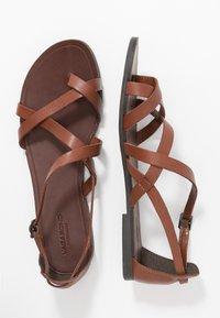 Vagabond - TIA - T-bar sandals - cognac - 3