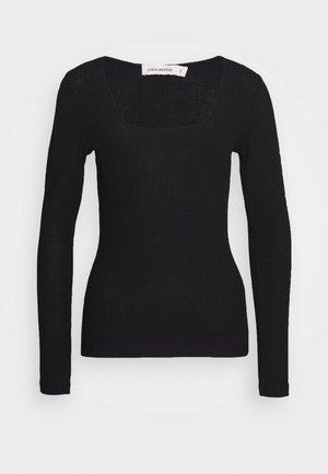RINA - Top sdlouhým rukávem - black