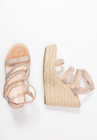 BEBO - TWINKLE - Sandaler med høye hæler - nude - 3