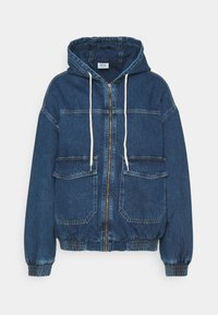 BDG Urban Outfitters - HOODED SKATE JACKET - Jeansjakke - dark vintage - 4