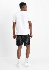 HUF - BOX LOGO - Print T-shirt - white - 2