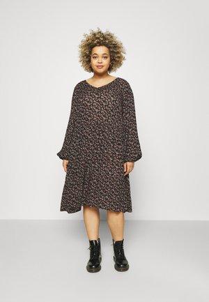 ALIA AMI DRESS - Vapaa-ajan mekko - black/brown