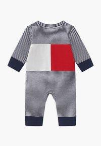 Tommy Hilfiger - BABY STRIPE FLAG - Overal - blue - 1
