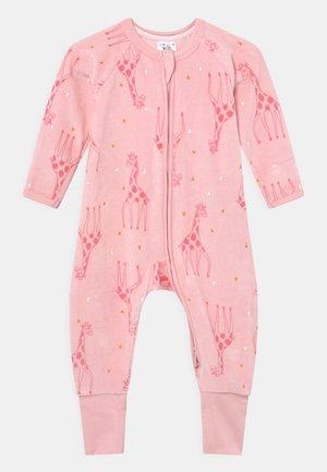 UNISEX - Pyjama - pink girafe