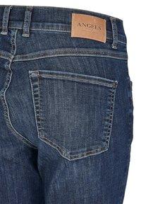 Angels - ANKLE ZIP SHINE' MIT MODISCHEN DETAILS - Jeans Skinny Fit - blue denim - 3