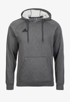 CORE ELEVEN FOOTBALL HODDIE SWEAT - Kapuzenpullover - grey/black