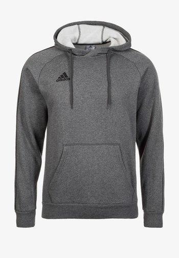 CORE ELEVEN FOOTBALL HODDIE SWEAT - Hoodie - grey/black