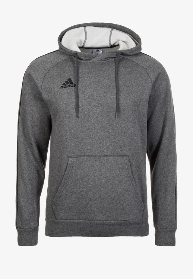 CORE ELEVEN FOOTBALL HODDIE SWEAT - Huppari - grey/black