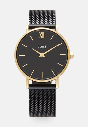 MINUIT - Horloge - gold-coloured/black